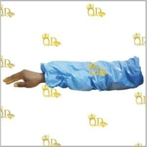 Protective Plastic Sleeve Blue 50pc