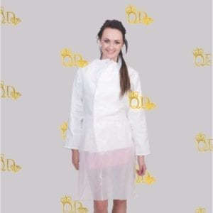 Disposable Smock White 10pc