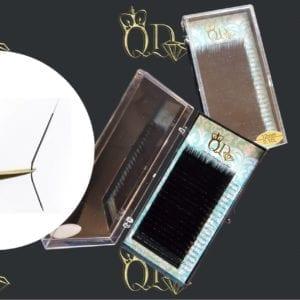 Korean Classic Lashes L0.10/12mm Mink