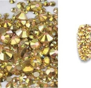 Rhinestone Gold AB_Especiale Mixed