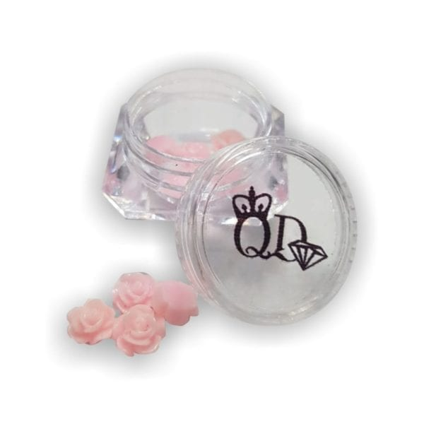 Nail_Art Resin Flowers Light_Pink