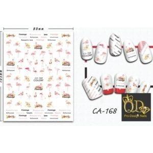 168ca QD/F Series Stickers
