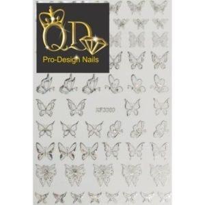 3360x/Silver QD/F Series Stickers