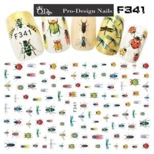 341 QD/F Series Stickers