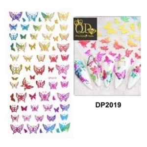 5 QD/B series Nails Sticker