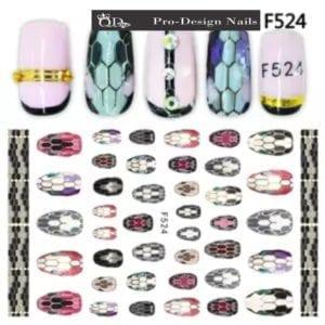 524 QD/F Series Stickers