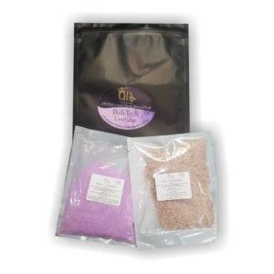 PEDI-TECH Jelly_foot_spa and mineral_soak Lavender