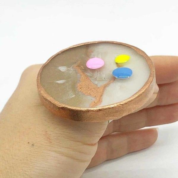 Nail Art Ring_Palette RoseGold